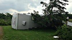 Les orages violents causent des dégâts dans