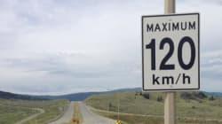 B.C. Raises Speed Limit On Some