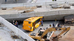 L'effondrement d'une bretelle d'autoroute au Brésil fait au moins 2