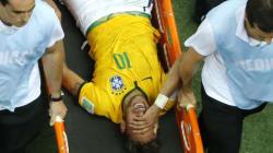 Blessé au dos, Neymar forfait pour la fin du