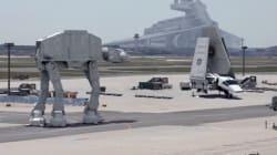 Une vidéo volée du tournage de Star Wars 7? Non, c'est mieux que
