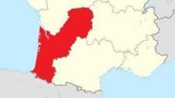 La forme de la nouvelle région Aquitaine-Limousin amuse les