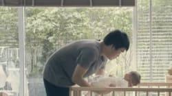 L'abbraccio di papà vale più di qualsiasi tecnologia