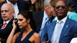 Victoria Beckham's Awkward Encounter With Samuel L.