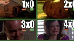 Brasil x Alemanha foi assim em 'Breaking