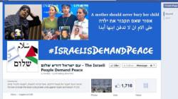 Un Israélien ouvre une page Facebook qui redonne un peu