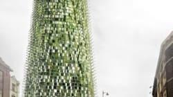 Un gratte-ciel organique dont la taille pourrait varier en fonction du recyclage de ses habitants