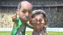 'Felipão aquece Dona Lúcia' e outros memes essenciais de Brasil X