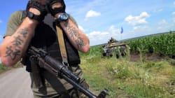 Les Ukrainiens fuient la bataille de Donetsk qui