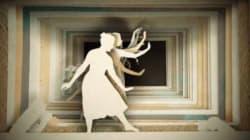 「切り絵」アニメでバレリーナが舞い踊る、その世界観があまりに儚く美しい【動画】