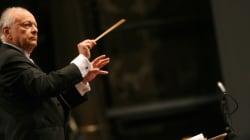 Le chef d'orchestre Lorin Maazel est