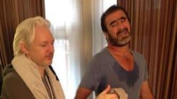 Que font Eric Cantona et Julian Assange