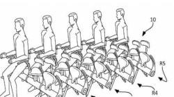 Oui, Airbus a breveté ces terrifiants sièges