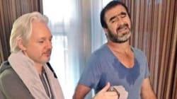 L'ultimo mistero di Julian Assange: si allena con Éric Cantona