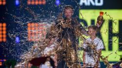 Beckham couvert d'or.