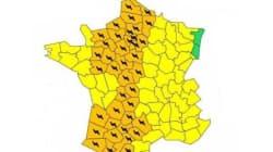 42 départements en vigilance orange