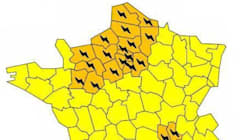 25 départements en alerte orange