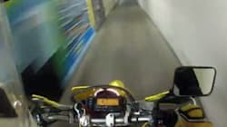 WATCH: Motorcyclist Speeds Through Carleton University