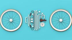 Un vélo démontable qui se range dans un sac en