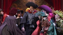 Patrice Robitaille dans la peau de Cyrano de Bergerac