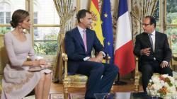 Première visite en France pour le roi d'Espagne Felipe
