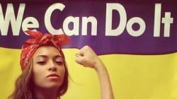 Beyoncé montre les