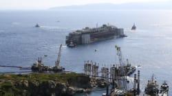 921 jours après, le Costa Concordia a quitté l'île du