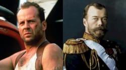 Bruce Willis et le tsar Nicolas II ont un point commun inattendu avec