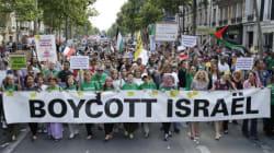 Des milliers de manifestants pro-palestiniens défilent à