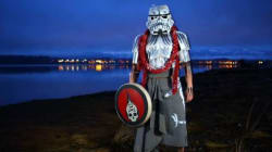 B.C. Artist Turns Stormtrooper Into First Nations