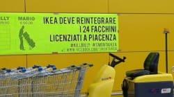 Ikea, scontri tra polizia e