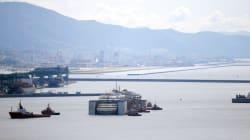 Le Costa Concordia achève son dernier voyage à