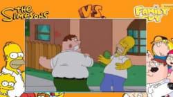 Botte da orbi tra Homer e Peter (FOTO,