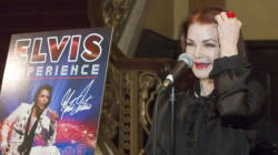 Martin Fontaine s'est produit devant l'ex-femme de Presley