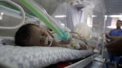 Gaza: le bébé du miracle est finalement
