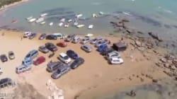 Con l'automobile fino al mare (VIDEO,