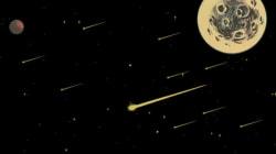 Pourquoi nous voyons beaucoup plus d'étoiles filantes l'été : expliqué en comics et en deux