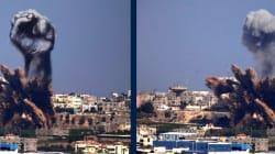 Les bombardements à Gaza détournés par des artistes palestiniens