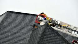 La foudre frappe une résidence de Drummondville