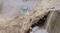 VIDÉO - Une impressionnante coulée de boue en