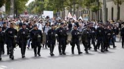 Manifestation pro-Gaza dans le calme à