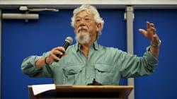 David Suzuki veut garantir de l'air pur et de l'eau saine partout au