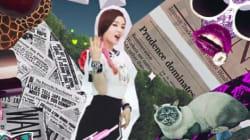 韓国アイドルのビデオに「原爆投下」 のシーン