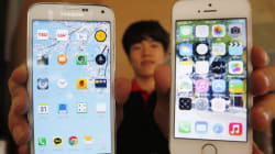 Le futur Samsung Galaxy en métal, comme l'iPhone