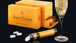Un champagne Veuve Clicquot en pastille, info ou intox