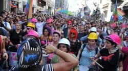 Des centaines de personnes marchent à Montréal pour dénoncer la