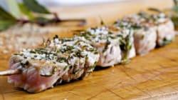 La recette du week-end: brochettes de veau mariné aux