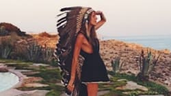Fashion Editor's Headdress Photos Are Cause For