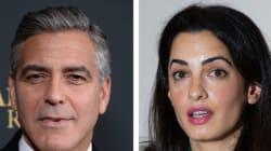 La fiancée de Clooney refuse d'enquêter sur les violations des droits de l'homme à