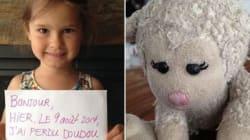 Grâce à la solidarité des internautes, cette petite fille a retrouvé son